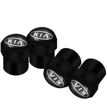 4 Uds coche estilo gorras para KIA Ceed K3 K4 K5 Sportage R QL KX5 Sorento KX3 KS3 RIO Cerato Optima Frote alma Auto Accesorios