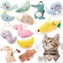 Cat Toy Catnip Interactive Plush Stuffed Chew Pet Toys Claw Funny Cat Mint Soft Teeth