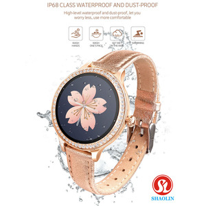 Image 5 - Fashion SmartWatch Ladies Smart Watch Female Physiological Period Reminder Sports Fitness Bracelet for Aoole Android Women Watch