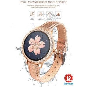 Image 5 - Montre intelligente femme physiologique période rappel sommeil surveillance sport Fitness Bracelet montre intelligente pour Apple Android montre