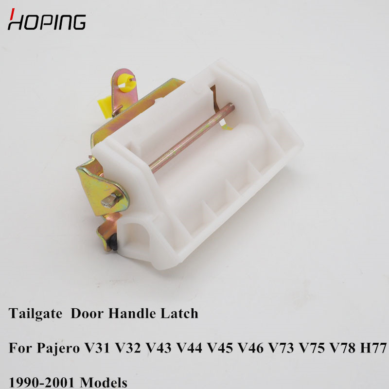 Hoping Auto Rear Tailgate <font><b>Door</b></font> Outer <font><b>Handle</b></font> Latch For <font><b>Mitsubishi</b></font> Pajero IO 1990-2001 V31 V32 V43 V44 V45 V46 V73 V75 MB669338 image