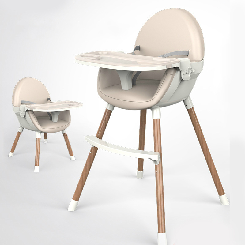 Dinning High Chair For Baby Dinner Height Adjustable Portable Foldable Chair Kid High Chair Covers For Babies Child Kids Feeding