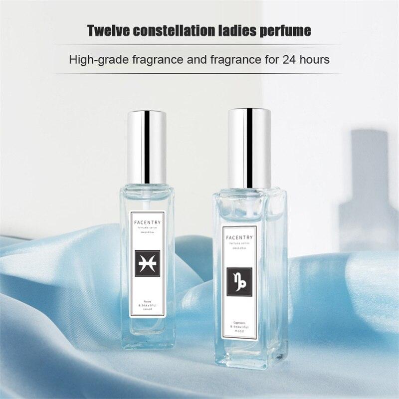 Twelve Constellation Perfume Portable Pure Simple Fresh Long Lasting Elegant Refreshing Fragrance 20 Ml