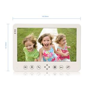 Image 3 - Homefong 7 Inch Video Cửa 1 Camera Có Dây Chuông Cửa Thu Âm Mở Khóa Cảm Biến Chuyển Động Đen/Trắng SD Thẻ Cảm Ứng nút