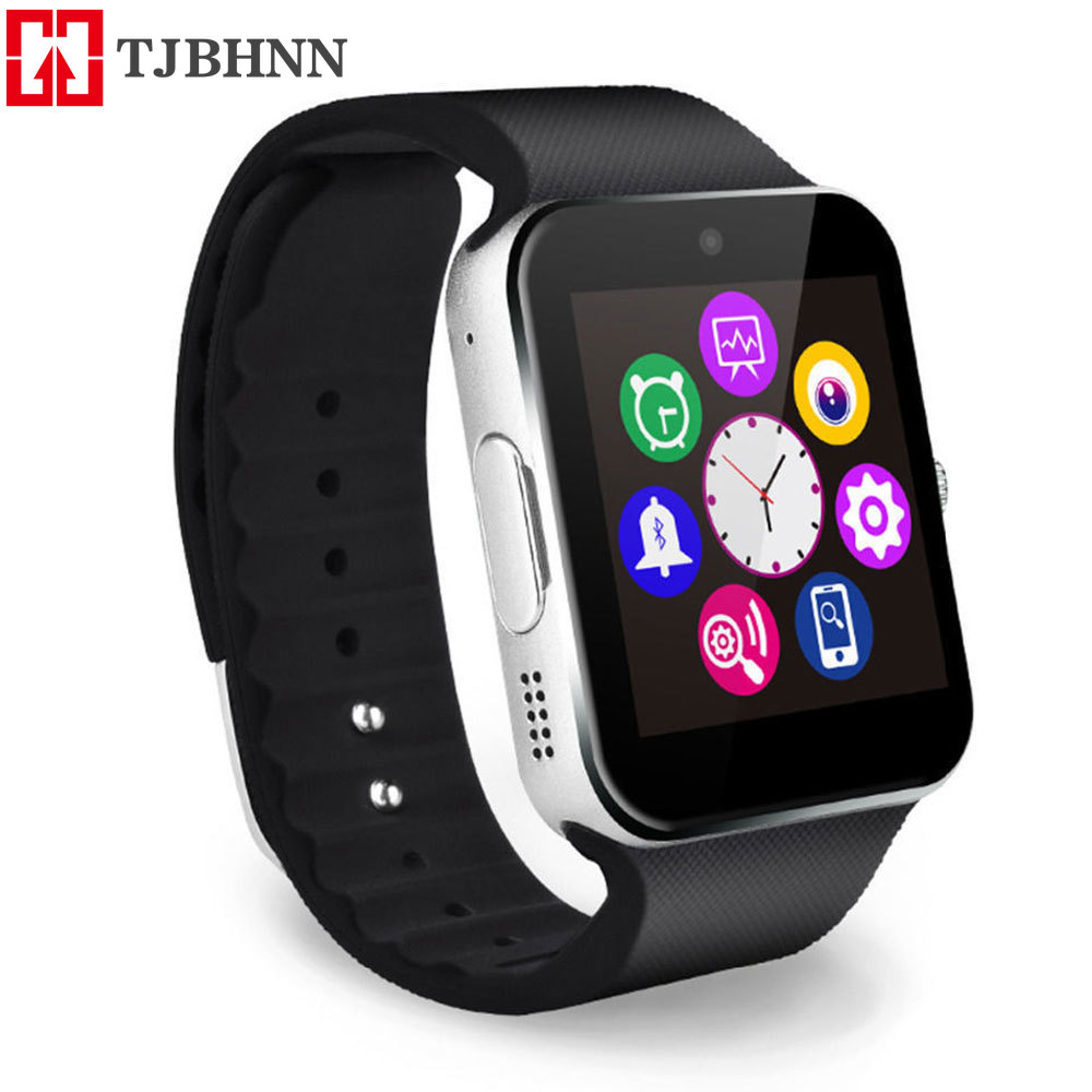 Smart Watch GT08 Bluetooth Wrist Watch Support Sim TF Card Android&IOS Push Message Iphone