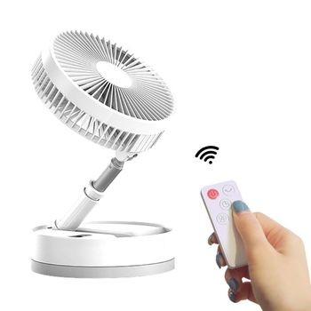 Electric Fan of Air Circulation Fan Pedestal Fan Desktop Mechanical Fan Household Remote Control Mute Negative Ion Purifier