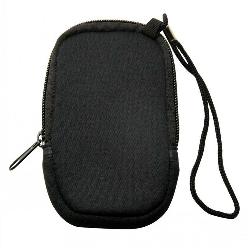 Portable Slim Digital Cameras Case Bag Pouch Pockets With Rope Black