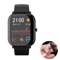 3 stücke Weiche TPU Klar Smartwatch Schutz Film Schutz Für Xiaomi Huami Amazfit GTS Sport Smart Uhr Full Screen Protector abdeckung