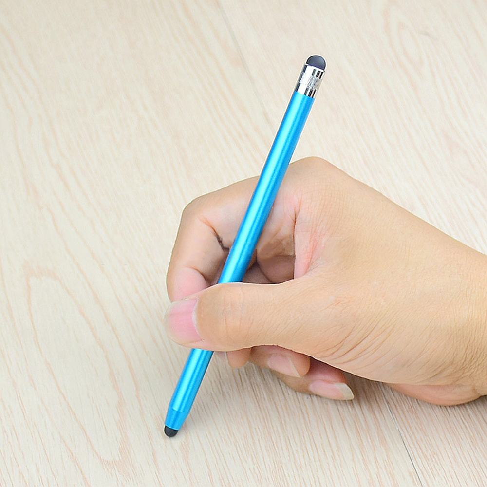 Double-headed Round-end Touch Screen Stylus Pencil Tablet Capacitive Smartphone IPad Universal Luxury Stylus.