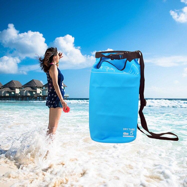 Водонепроницаемый мешок открытый поставки пляж дрейфующих Водонепроницаемый складной 2L гидратации пакет настраиваемый
