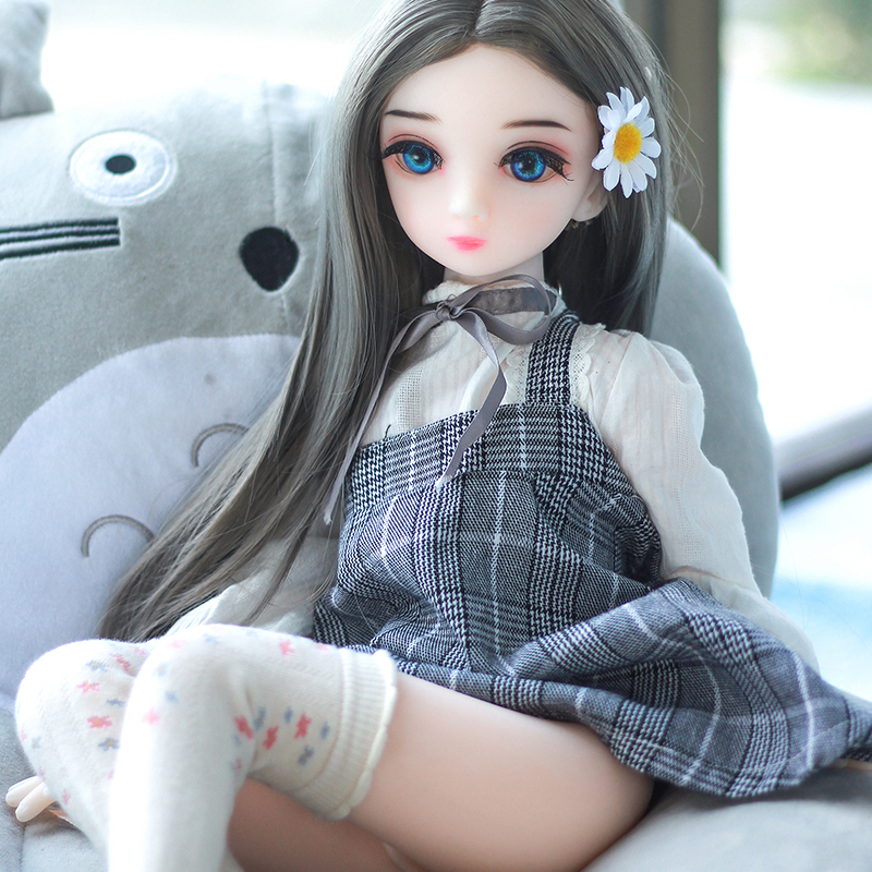 Hot Sale <font><b>Sex</b></font> Doll 65cm Small Breast <font><b>Boobs</b></font> Mini Doll A Cup Anime Silicone Love Doll for Men <font><b>Sex</b></font> <font><b>Toys</b></font> image