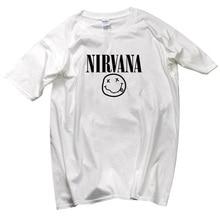 2019 latest design rock Beatles Nirvana T-shirt Men/man fashion casual high quality 100% cotton short-sleeved Mens