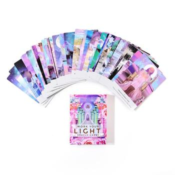 11 Romance Angels Oracle Tarot Cards English Read Fate Board Game Oracle Playing Card Deck Games For Party Personal Entertainmen