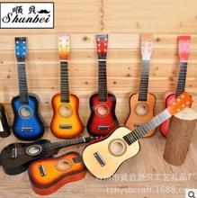 6 cordas ukulele colorido mini guitarra portátil 21 polegada mini ukulele acústico para crianças crianças iniciantes casa-presente escolar