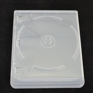 Image 5 - 10 pcs CD DVD Disc Plastic Case Capacity Disc CD Storage Box for PS3