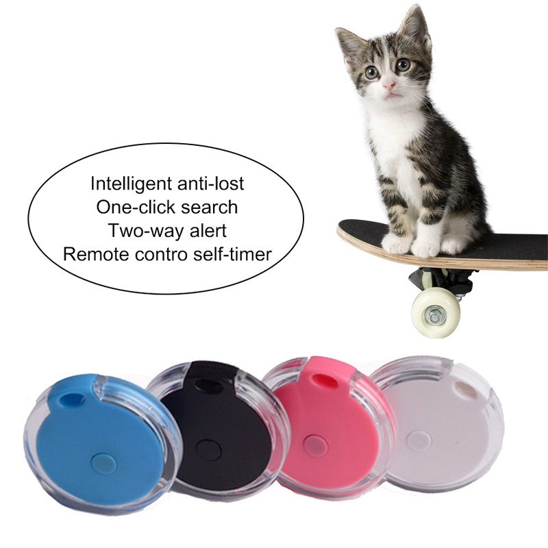 Pet Dog Cat GPS Tracker Smart Bluetooth Wireless Locator Anti-lost Tracker Alarm Spy Mini Tracking Finder Device Auto Tracker