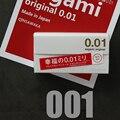 Сделано в Японии, 5 шт./набор, 0,01 мм супер тонкий ультра-тонкий как не был одет в счастье 001 презерватив для мужчин оригинальный без латекса по...