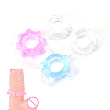2Pcs Silicone Cock Rings Penis Ring Delaying Ejaculation Multi-color Small Sex Toys for Couples Lock Ejaculation Sex Rings(China)