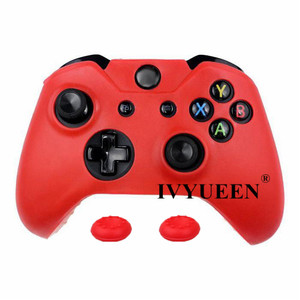 Image 3 - IVYUEEN Soft Silicone Rubber Protective Skin Case Cover For Microsoft Xbox one 1 Controller Gamepad Black Green Blue Red Camo