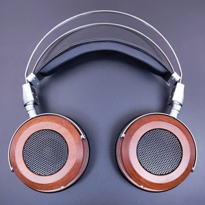 Image 2 - HiFI 50mm Headphone Over Ear Headset With 3.5mm Audio Cable 16Ohm Speaker Unit Open Back Zinc alloy Wooden Good Quality New 1PC