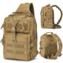 Plecak taktyczny 20L wojskowy plecak szturmowy Army Molle EDC plecak Outdoor wielofunkcyjny Camping polowanie wodoodporny pakiet zawiesi tanie tanio NoEnName_Null tactical bag Unisex Multifunction Miękka Other molle backpack Army backpack military tactical bag hunting bag