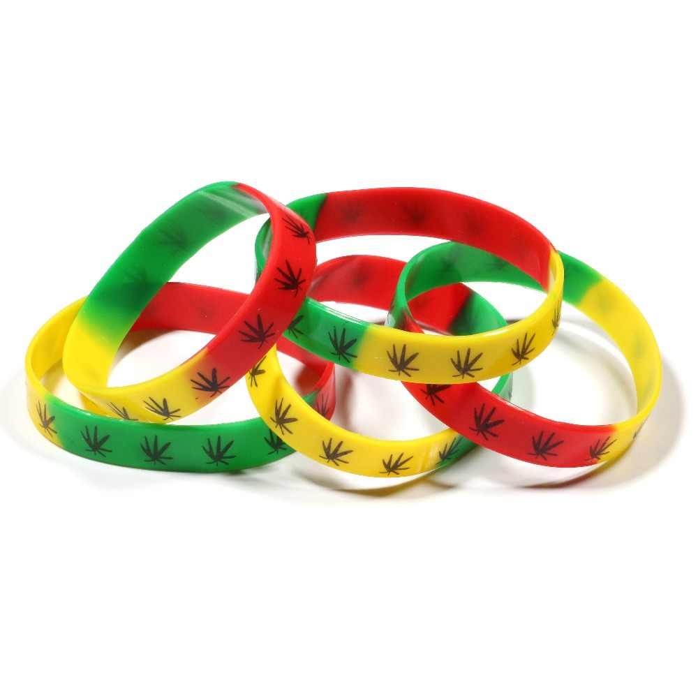 En gros 10 pièces Mulitcolor meilleur ami Bracelets Bracelets impression Silicone Bracelet de mode Bracelet bijoux pour femmes et hommes