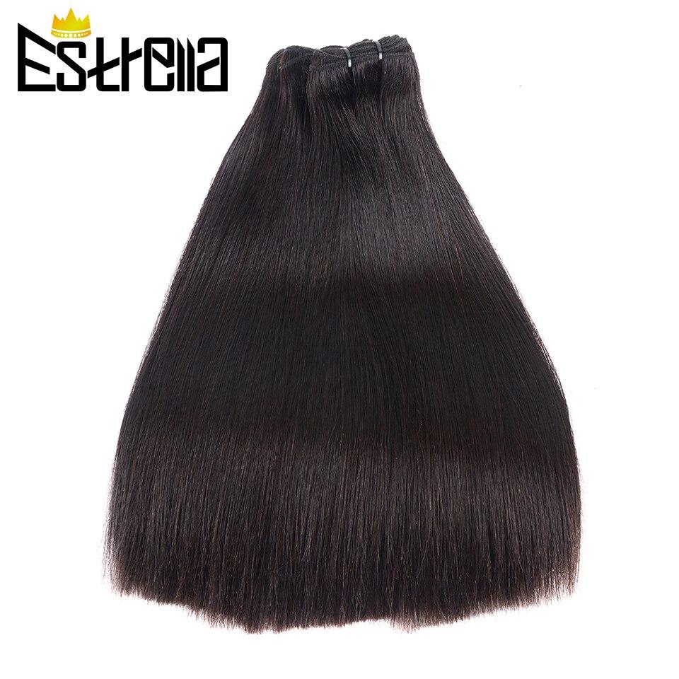 Bone Straight  Bundles   Bundles Natural Human Virgin Hair Double Drawn 100%  ESTRELLA 3