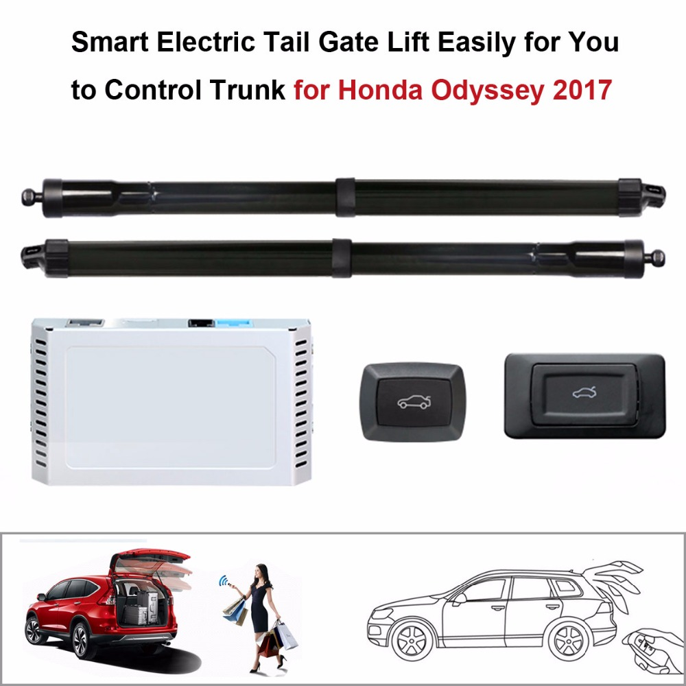 Car Smart Auto Electric Tail Gate Lift For Honda Odyssey 2017 Control Set Height Avoid Pinch With Latch