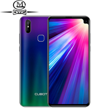 Cubot Max 2 4GB 64GB Android 9.0 5000mAh 4G Smartphone Octa Core  6.8'' Waterdrop screen Dual Rear Cameras 6P Lens mobile Phone