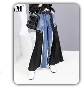 [EAM] 2019 Spring Plus Size Long Shirts Women Blouses Long-sleeve White Loose Tops Black White Cotton Shirt Big Size C006111 26