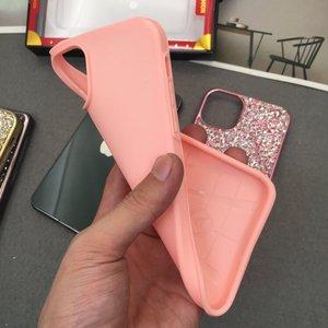 Image 4 - Knipperende Strass Telefoon Case Voor iphone 11 Pro Max 2 in 1 Diamond Glitter Vrouwen Terug Case Voor iphone Xs max Gevallen, CKHB DD