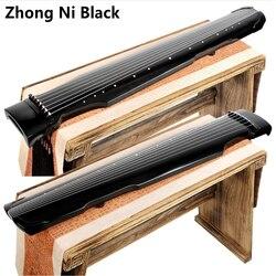Alta calidad chino Zhongni Guqin 7 cuerdas cremallera antigua para la práctica de principiantes Guqin 100% instrumento musical hecho a mano 2 colores