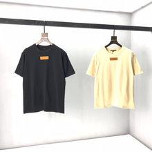 2021 Itn Kleding Homme T-shirt Mens Mannen Vrouwen Designer T-shirt High Street Print T Shirt Maat XS--L