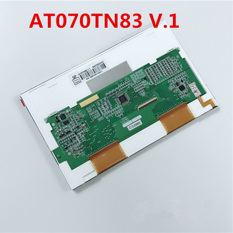 Free Shipping New Original 7 Inch TFT INNOLUX AT070TN83 V.1 AT070TN83-v1.0 40 Pin LCD Screen Panel Module Controller