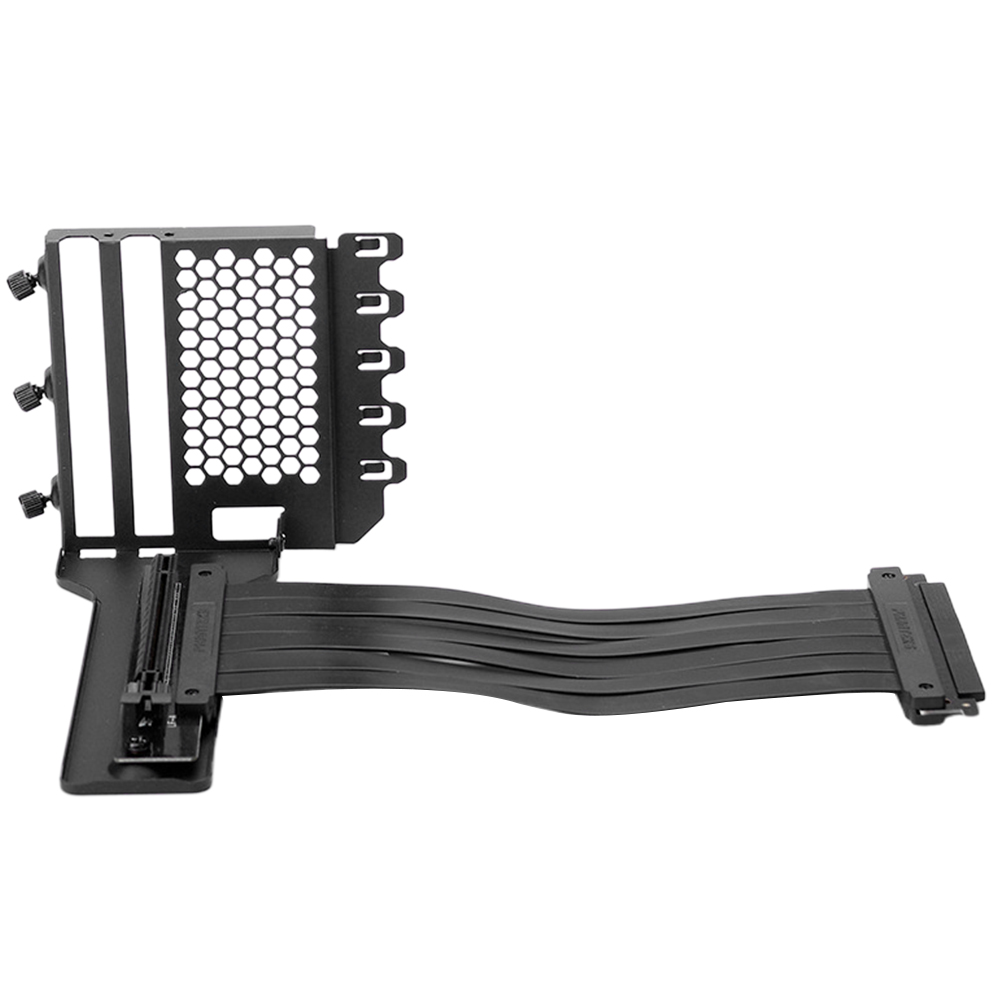 Anti-interference Multifunctional Mount With 220mm Flat Line Vertical GPU Bracket Metal Graphics Card Holder High Stability