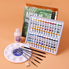 Painting-Art Acrylic-Paint Color Beginner Rare Bing Student 12/18/24/36