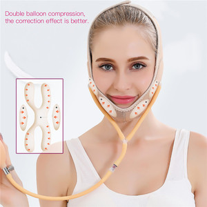 Image 3 - Gas Air Press Face Lift Thin V Line Face Bandage Mask Slimming Strap Belt Facial Thin Double Chin Remover Shaper Weight Loss