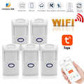 Tuya Smart WiFi Infrared Detectors Motion Sensor Alarm Compatible Wireless Home Security System With Tuya APP Smart Life APP
