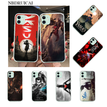 Nbdruicai LOL Mid Yasuo untuk iPhone 11 Pro XS MAX 8 7 6 6S Plus X 5S SE XR Cover(China)