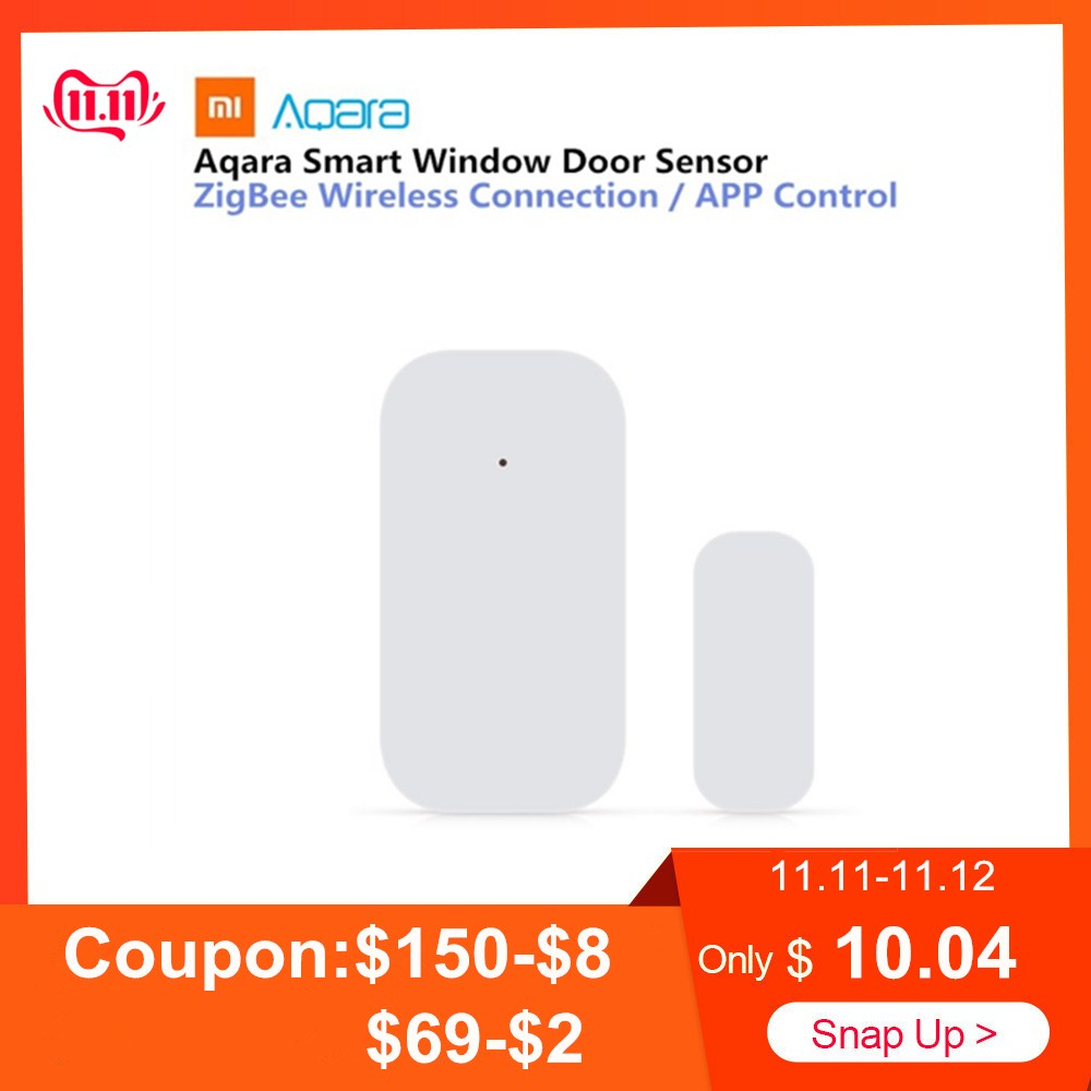 Aqara Smart Window Door Sensor Set Intelligent Sensor Home Security Equipment With ZigBee Wireless Connection