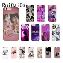 RuiCaiCa Ariana Grande Coque Shell สำหรับ iPhone 8 7 6 6S Plus X XS MAX 5S SE XR ฝาครอบ(China)