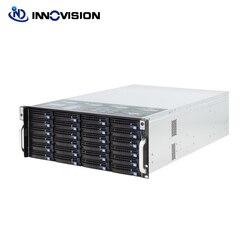 Супер огромное хранилище 24 bays 4u hotswap rack NVR NAS серверное шасси S46524