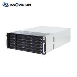 Super enorme di stoccaggio 24 baie 4u hotswap cremagliera NVR NAS chassis server di S46524