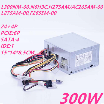 New PSU For Dell 260 620 660 390 790 990 3010 7010 9010 300W Power Supply L300PM/B300PM-00 D300PD-00 PS-6301-05/06 ATX0350D5WA