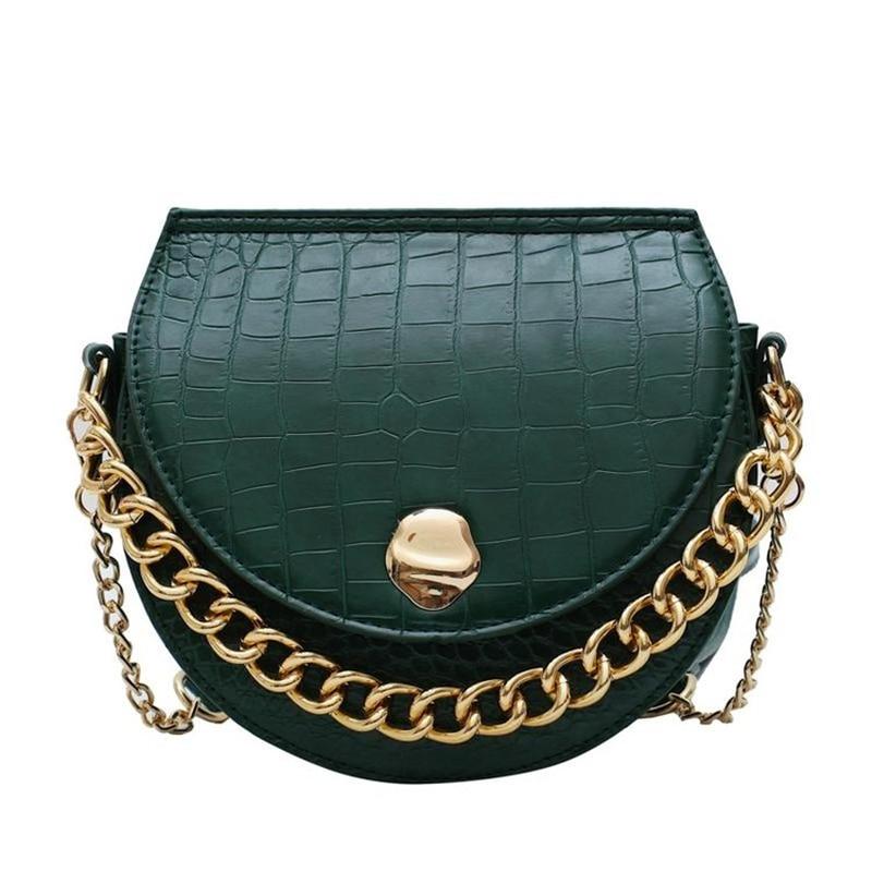 Designer Handbags Quality Printing Fashion Versatile Simple Shoulder Bag Texture Chain 2019 New Women