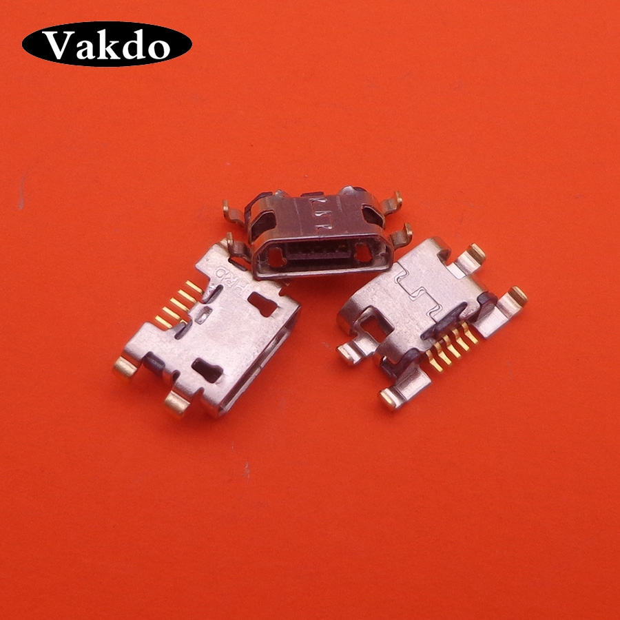 5PCS For Oukitel K3 K6000 PRO Micro Mini Usb Jack Socket Dock Charging Charger Port Connector Replacement Repair Parts