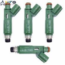 4PCS Neue Kraftstoff Injektoren Düse Für Toyota Corolla Matrix Celica Vibe Chevy 1,8 L 23250 22040 23209 22040 2325022040 2320922040