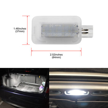 цена на 1Pcs 18SMD T10 w5s LED Luggage Compartment Interior Light for Honda For Accord 4D City 4D Civic 3D 4D 5D Hybrid CR-Z Jazz Fit 5D