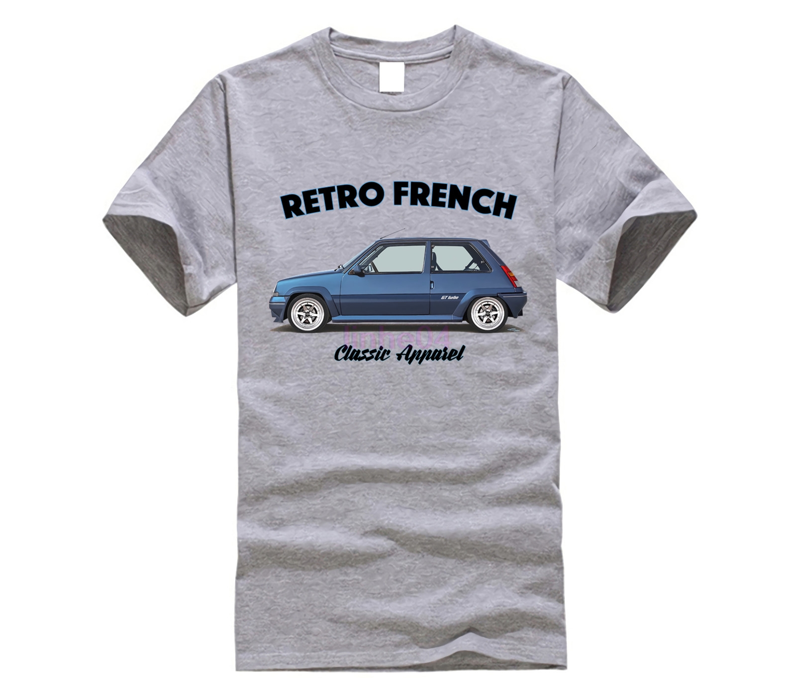 2019 Venta caliente Super Mode <font><b>RENAULT</b></font> <font><b>5</b></font> <font><b>GT</b></font> <font><b>TURBO</b></font> camiseta. image