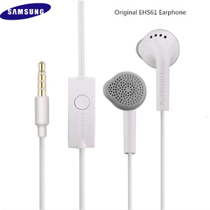 Image 2 - New Original For Samsung S5830 In Ear Earphones 3.5mm Sport Earbuds Wired Line Type Headsets For S9 S10 A10 A30 J5 J7 EHS61 MIC